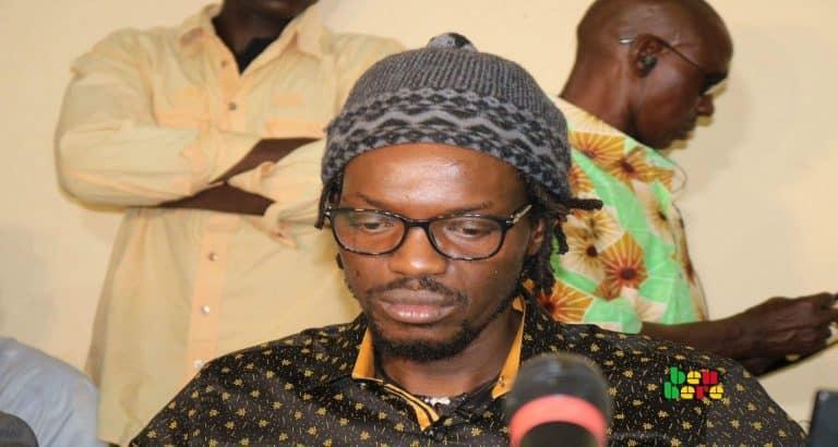 Ras Bath influenceur conférence_de_presse_ bamako_Mali Benbere