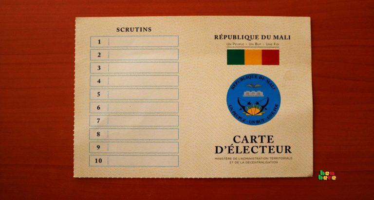 maliens voter raison sentiment Carte_d_electeur_vote_Bamako_Mali Benbere