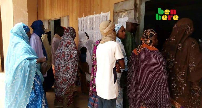 twittoscopie moments forts presidentielle Electeurs_bureau_de_vote_presidentielles_Tombouctou_Mali