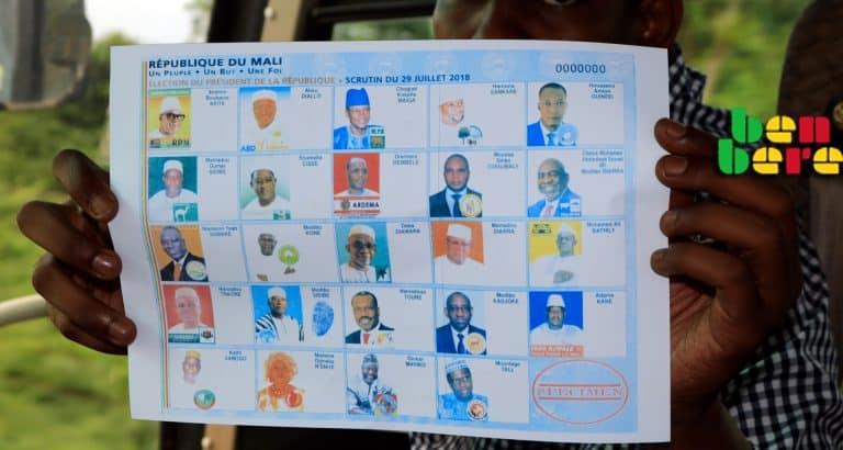 malien votait moindre mal specimen Benbere