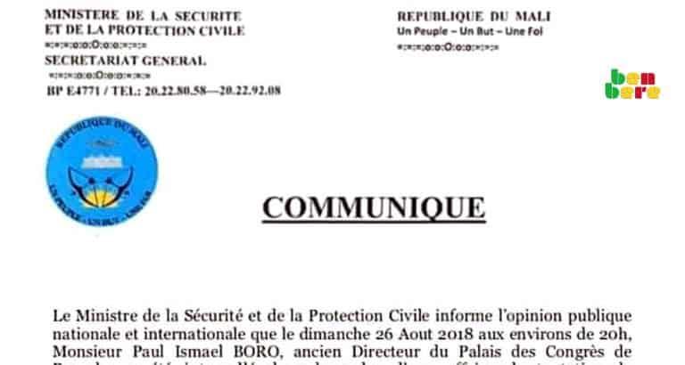 non transparence fake news Faux_document_communique_Bamako_Mali