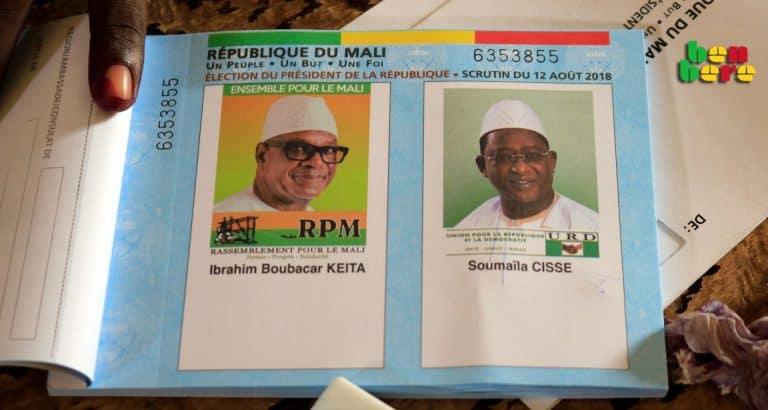 ibk deuxieme mandat election_president_elu_vote_Bamako_Mali 2