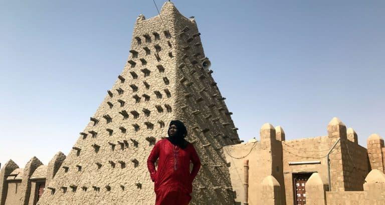 mali autorites tourisme local mosque sankoré tombouctou