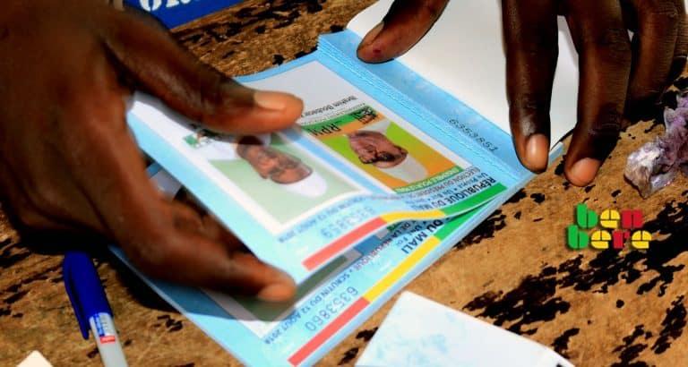 ibk jeune specimen_agent_de_vote_presidentielle_Bamako_Mali