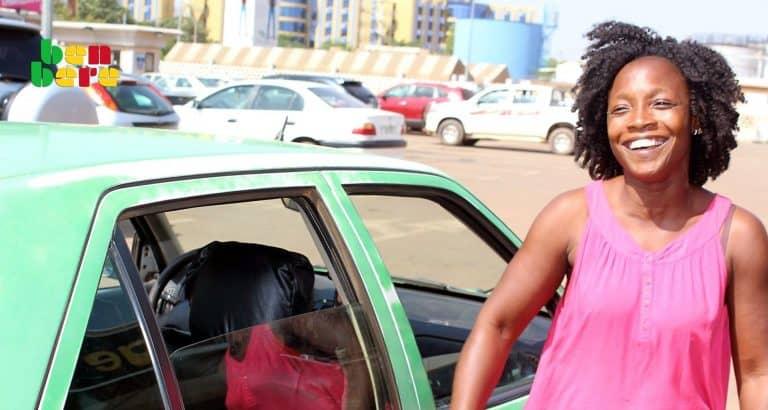 biba taxiwoman burkina faso taxi_femme_parking_Ouagadougou_Burkina_faso