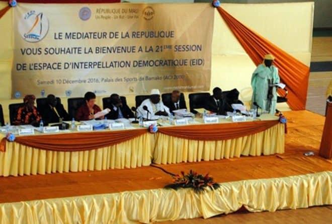 Au Mali, l'Espace d'interpellation démocratique au creux de la vague