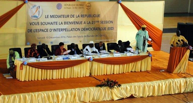 Mali Espace interpellation démocratique