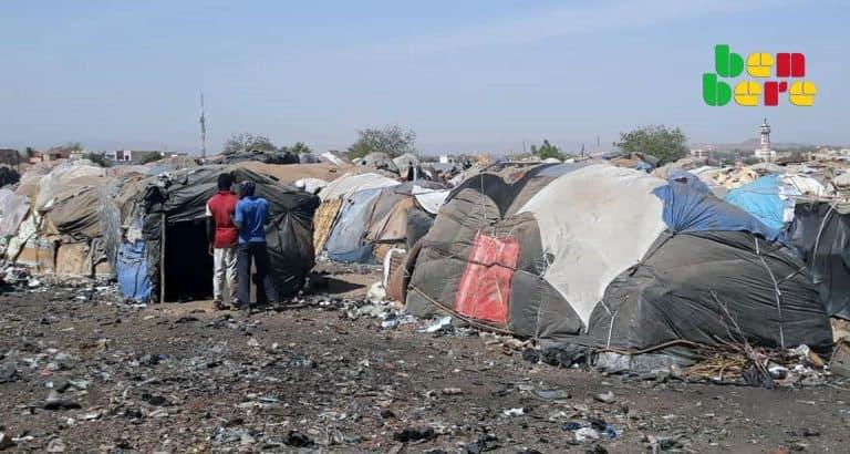 face cachée camp déplacés