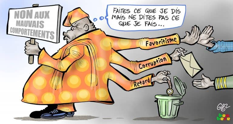 corruption favoritisme changement