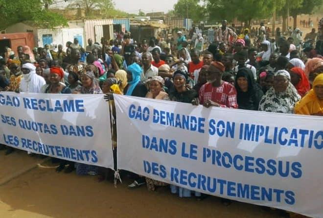 A Gao, la société civile debout contre la triche dans les recrutements