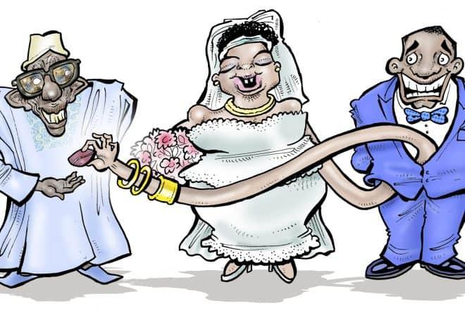Mariage : la femme aussi peut payer sa dot
