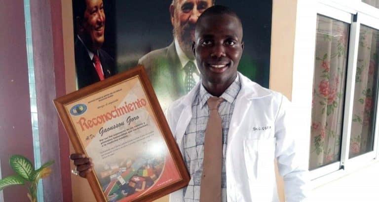 De Sévaré à La Havane : le parcours brillant du jeune major en médecine Gaoussou Goro