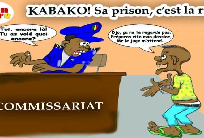 Kalabancoro: sitôt relâché par le tribunal, un multirécidiviste pourchassé