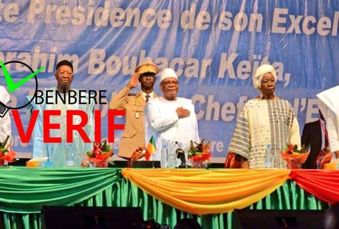 #BenbereVérif : Non, il n'est pas interdit d'évoquer l'accord pour la paix au dialogue national