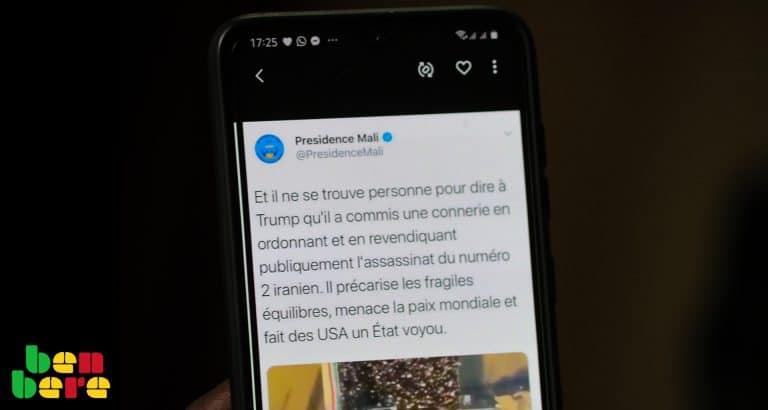 Twittoscopie : au Mali, le tweet qui a dit tout haut ce qui est pensé tout bas