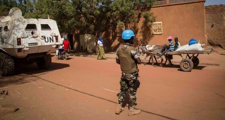 À Mopti, le déploiement contesté des casques bleus de la Minusma