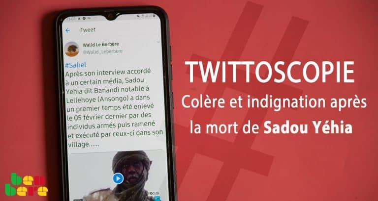Twittoscopie: colère et indignation après la mort de Sadou Yéhia