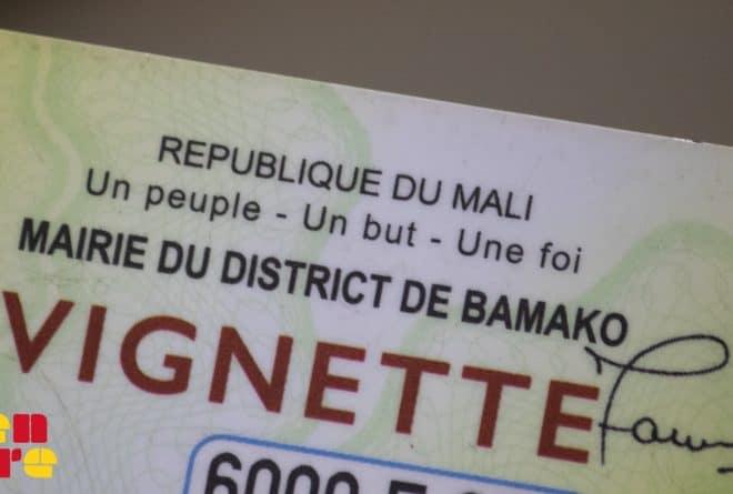Vignettes pour motos tricycles : et le grand perdant est…l'État malien !