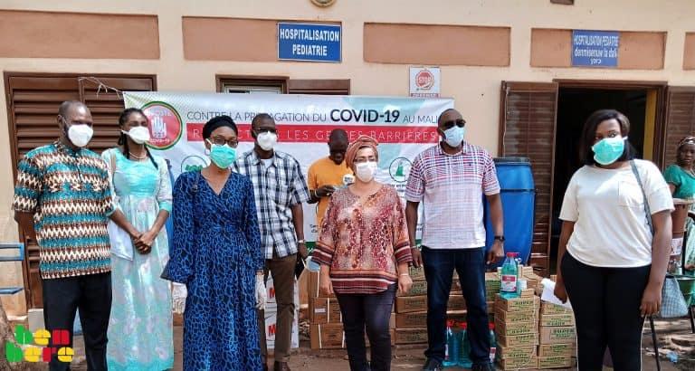 Coronavirus : la solidarité de « Riposte 223 Covid-19 » envers les hôpitaux et centres de proximité