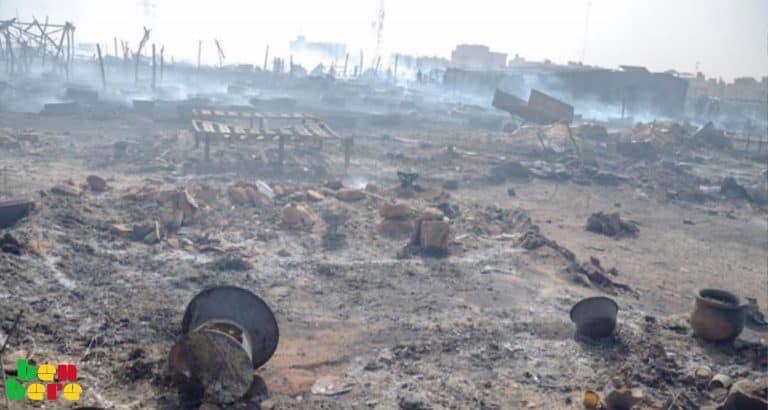 « Je suffoquais à l'intérieur de ma case…» : après le gigantesque incendie à Faladiè, des rescapés témoignent