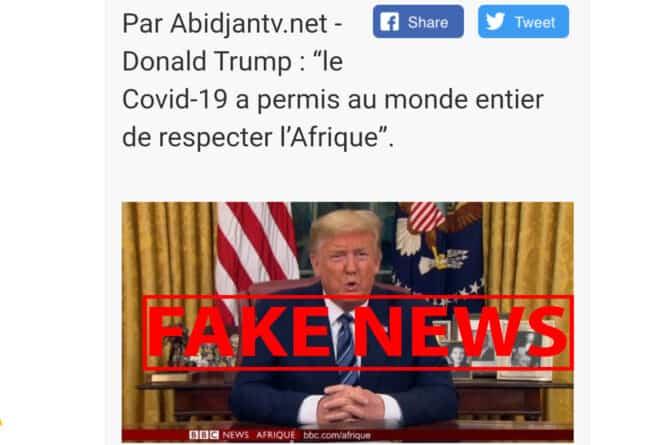 #BenbereVerif – Covid-19 : Non, les États-Unis n'ont pas lancé de commande du remède malgache
