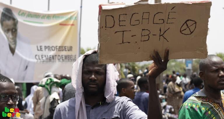 [Reportage] À Bamako, la grogne anti-IBK se poursuit