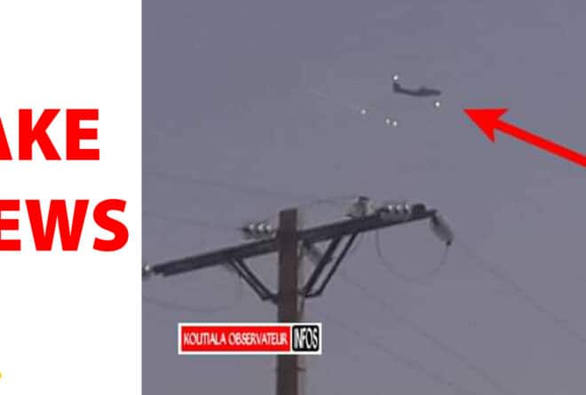 #BenbereVerif : cet avion de Barkhane n'a pas largué de « substance gazeuse » sur Tombouctou