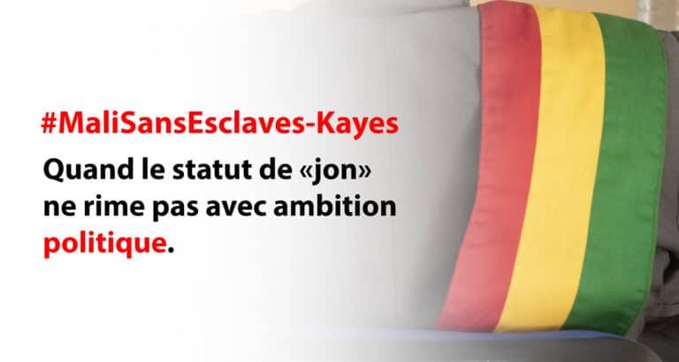 #MaliSansEsclaves : quand statut de « jon » ne rime pas avec ambition politique