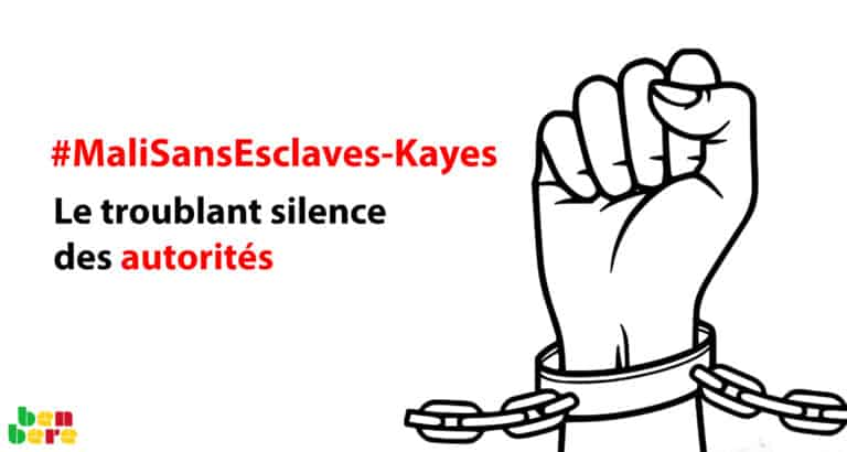 #MaliSansEsclaves : le troublant silence des autorités