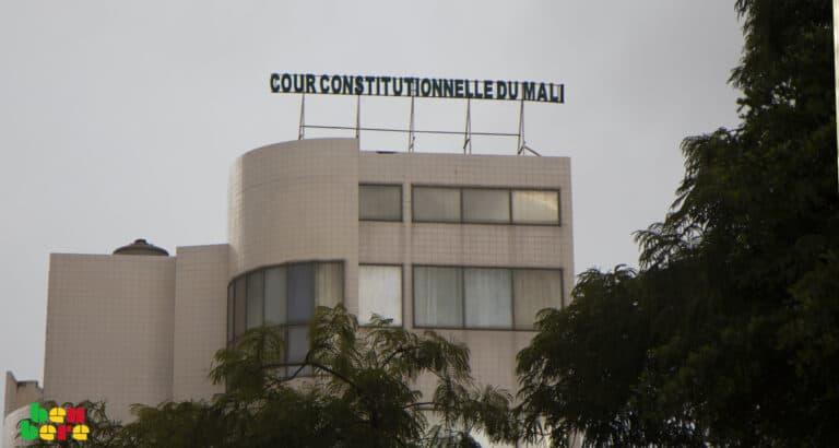 [Tribune] Mali : la Cour constitutionnelle est indissoluble légalement