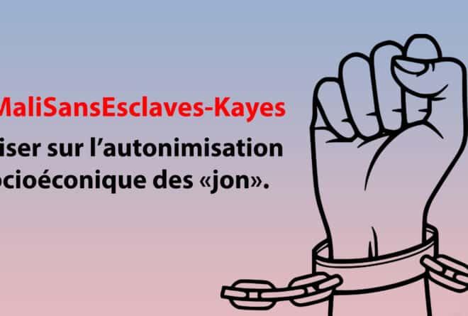 #MaliSansEsclaves : miser sur l'autonomisation socioéconomique des « jon »