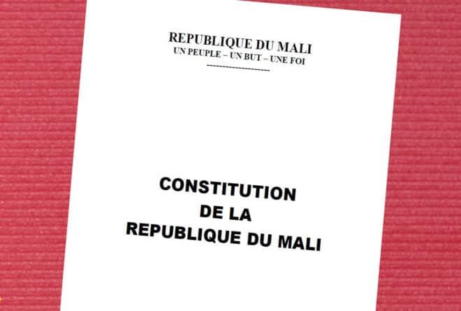 Tribune : la Constitution malienne mise à rude épreuve