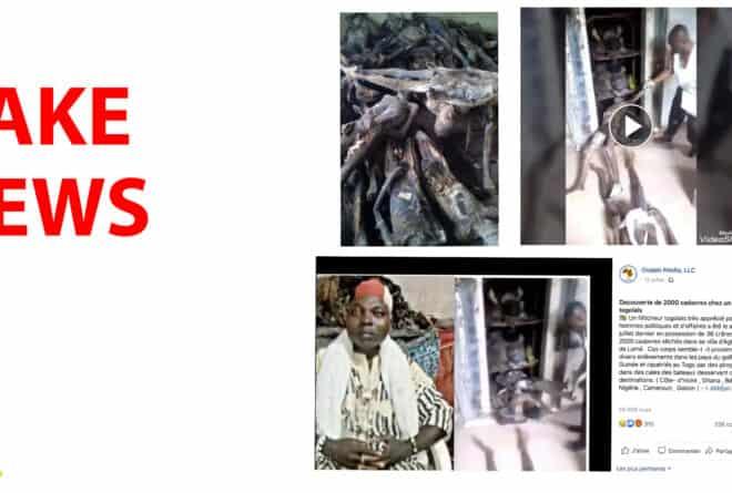 #BenbereVerif : attention à cette vidéo fausse d'un présumé féticheur togolais