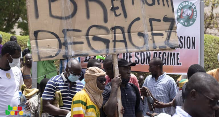 A Mopti, la contestation marquée par une faible mobilisation