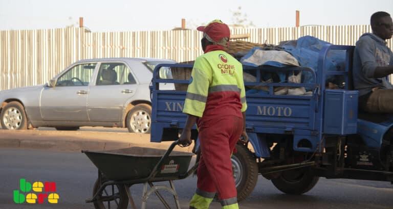 À Bamako, l'insalubrité sur fond de mélange des rôles des structures d'assainissement