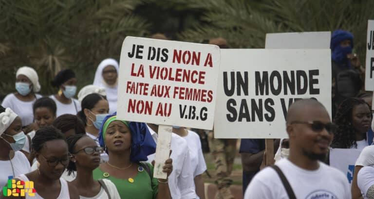 Lutte contre les VBG : moins de paroles plus d'action en faveur des survivantes