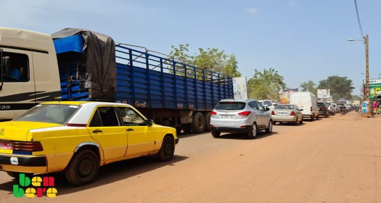 Bamako : l'enfer des embouteillages