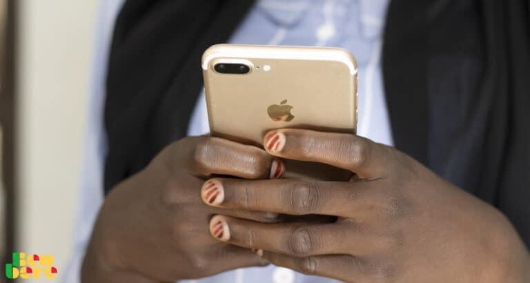 A Bamako, tout pour un iPhone !