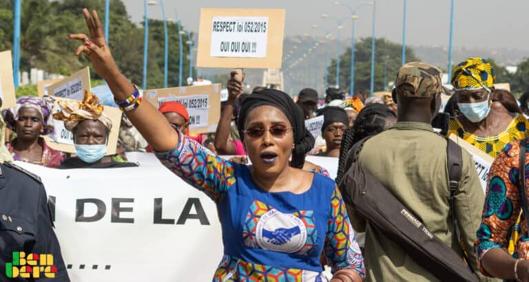Coumba Bah : pour lutter contre les VBG, « il faut l'implication et l'engagement des hommes »