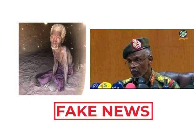 #BenbereVerif : Non, cette personne n'est pas le colonel Ibrahim Shamssedine