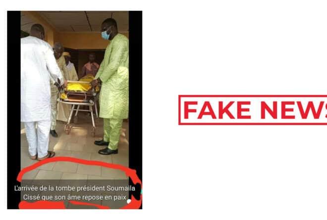 #BenbereVerif: cette photo ne montre pas le retour de la dépouille de Soumaïla Cissé