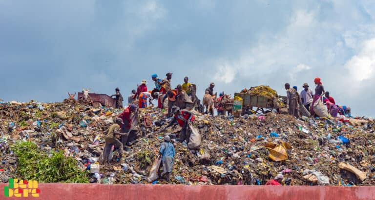 A Lafiabougou-Taliko, discorde autour d'un site de dépôt d'ordures