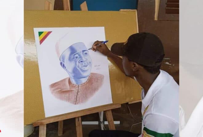 Wadidié Mahamane, portraitiste aux mille talents