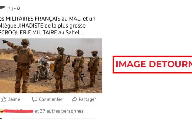 #BenbereVerif : attention, cette photo des soldats français en opération est détournée pour faire de l'intox