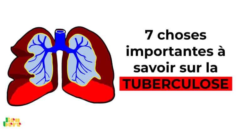 Mali : 7 choses importantes à savoir sur la tuberculose