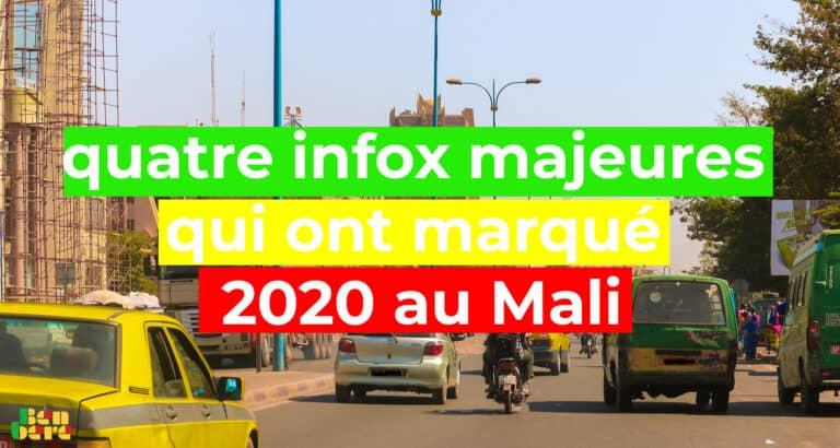 #BenbereVerif: quatre infox majeures qui ont marqué 2020 au Mali