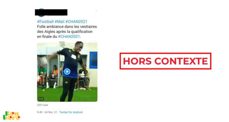 #BenbereVerif : cette vidéo de Djigui Diarra n'a pas été tournée pendant le CHAN