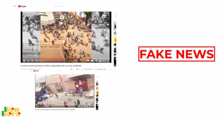 #BenbereVerif : cette vidéo n'a pas de lien avec la contestation électorale au Niger