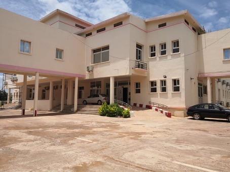 L'hôpital du Mali, à Bamako, a été inauguré en 2010.Credit photo : l'auteur