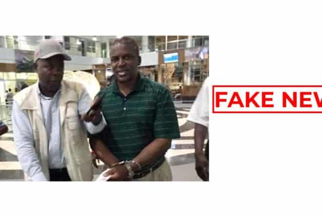 #BenbereVerif : cette vidéo ne montre pas l'arrestation du ministre botswanais de l'intérieur